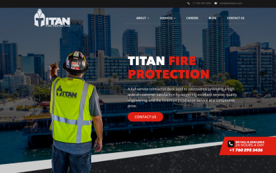 TITAN Fire Protection Inc. Launches New Website
